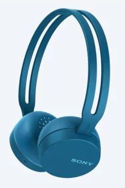SONY WH-CH400 WIRELESS HEADSET (BLUE) 3