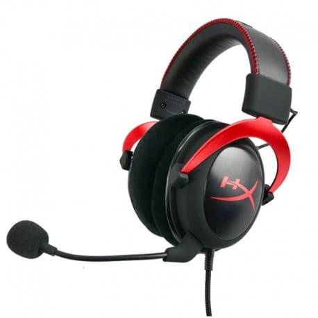 KINGSTON HYPERX CLOUD II GAMING HEADSET (RED) 3