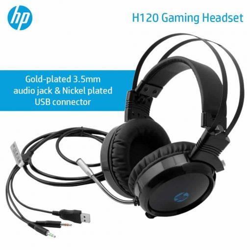 HP H120 GAMING HEADSET 6