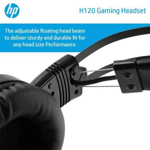 HP H120 GAMING HEADSET 8