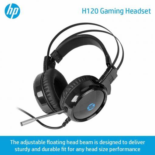 HP H120 GAMING HEADSET 4