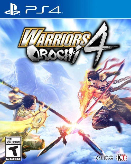 PS4 WARRIORS OROCHI 4 3
