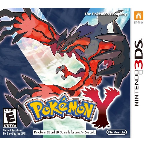 PREOWNED 3DS POKEMON Y 3