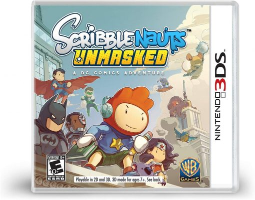 PREOWNED 3DS SCRIBBLENAUTS UNMASKED 2