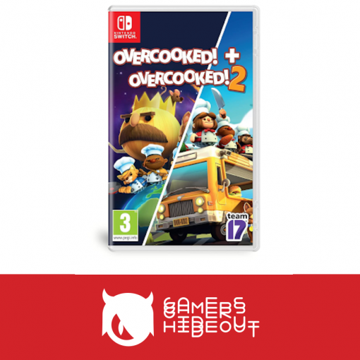 Nintendo Switch Overcooked