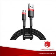 BASEUS CAFULE CABLE FOR USB TO MICRO USB 1 METER (RED-BLACK/ CAMKLF-B91)