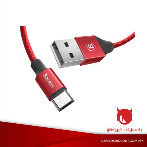 BASEUS YIVEN CABLE USB TO MICRO USB (RED/ CAMYW-B09)