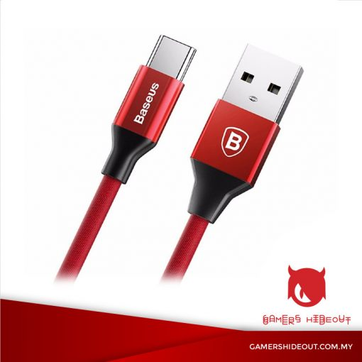 BASEUS YIVEN CABLE USB TO TYPE-C (RED/ CATYW-09)
