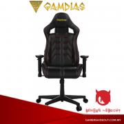 Gamdias Aphrodite MF1-L Gaming Chair (Full Black)