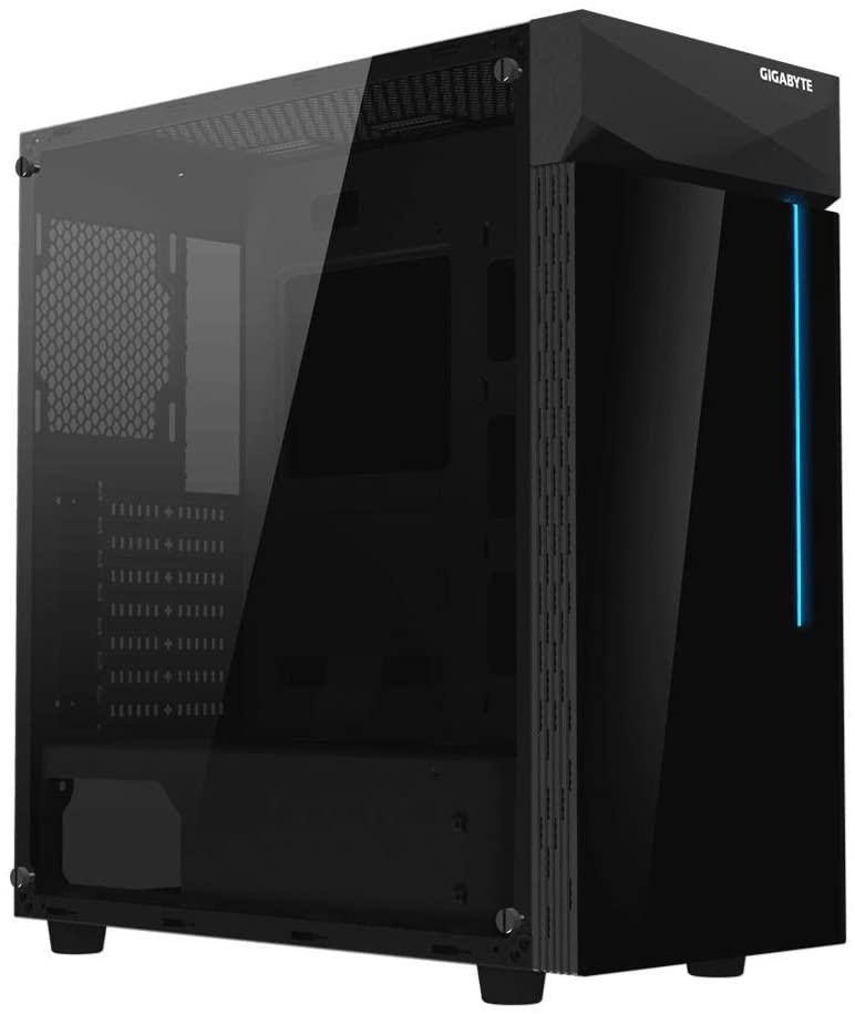 GIGABYTE GIGABYTE C200 TEMPERED GLASS PC CASE - Gamers Hideout